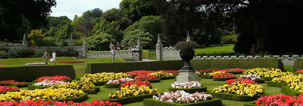 The wonderful gardens at Lanhydrock